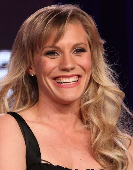 Katee Sackhoff in 2012, at an event for the A&E show ''Longmire,'' in which she stars.