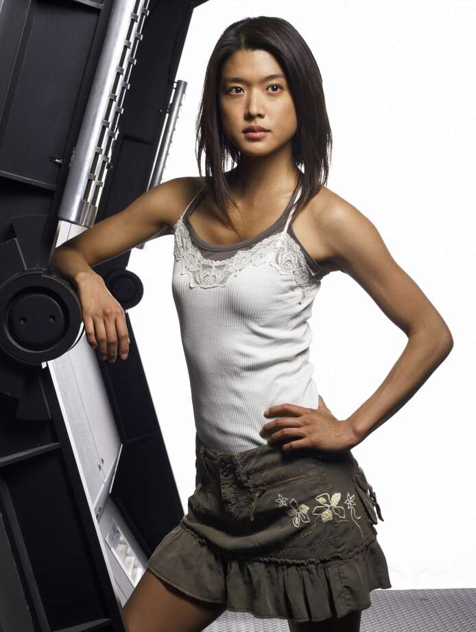 Grace Park played as Cylon Number Eight. She's pictured in 2006.