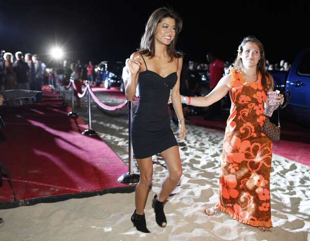 Grace Park, left, in Waikiki for the 2010 premiere of ''Hawaii 5-0.''