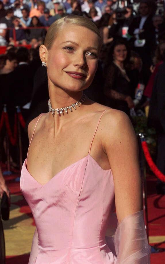 Gwyneth Paltrow, nominated Shakespeare in Love, was an American beauty in Ralph Lauren in 1999. Photo: DAVE CAULKIN