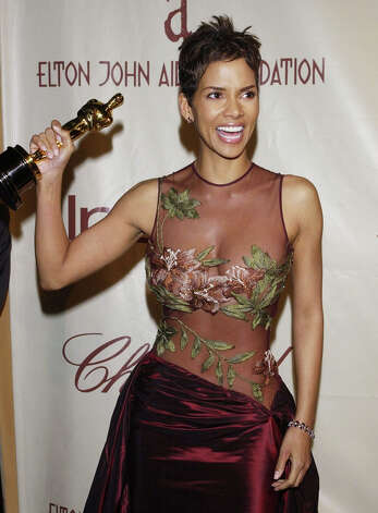 Halle Berry, who won Best Actress Monsters Ball in 2002, put designer Elie Saab on the map when she wore this stunning dress. Photo: JIM RUYMEN, REUTERS / X01224