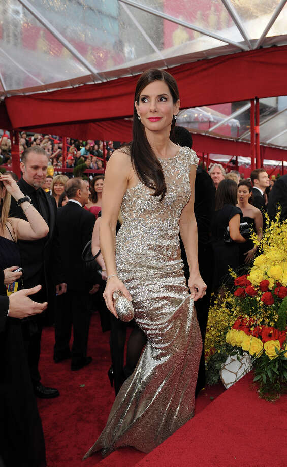 Marchesa was the choice of actress Sandra Bullock in 2010, the year she won best actress. Photo: ROBYN BECK, AFP/Getty Images / AFP