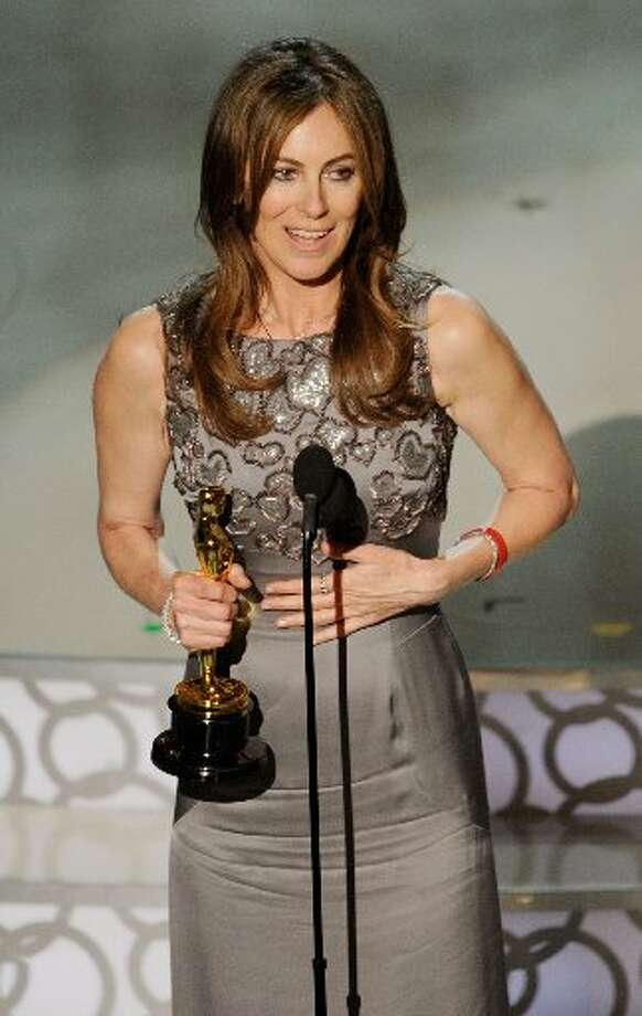 Director Kathryn Bigelow, who won best director in 2010. She wore a Yves Saint Laurent Edition Soir gown by Stefano Pilati.
