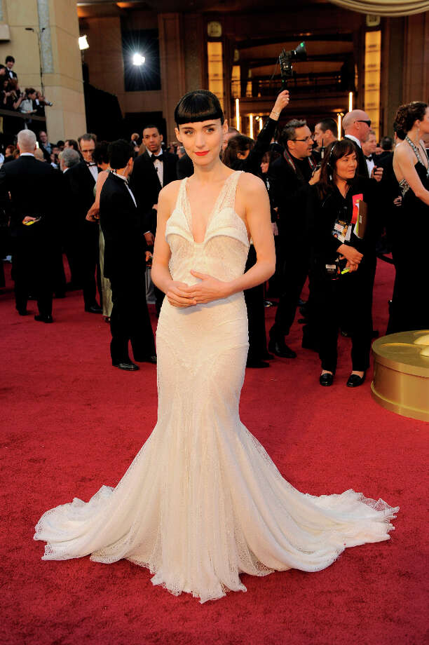 Rooney Mara in Givenchy in 2012. Photo: Chris Pizzello, Associated Press / AP