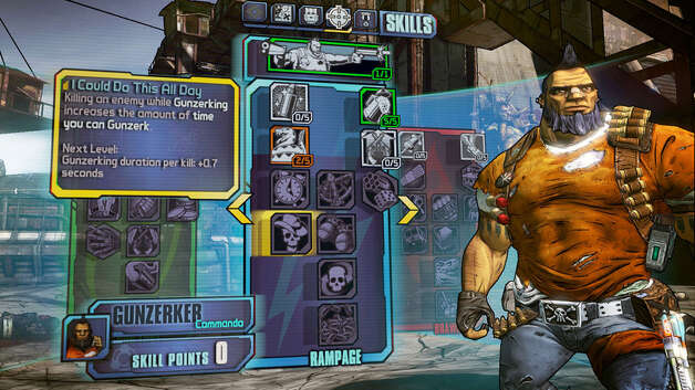 "Screen grab of ""Borderlands 2"""