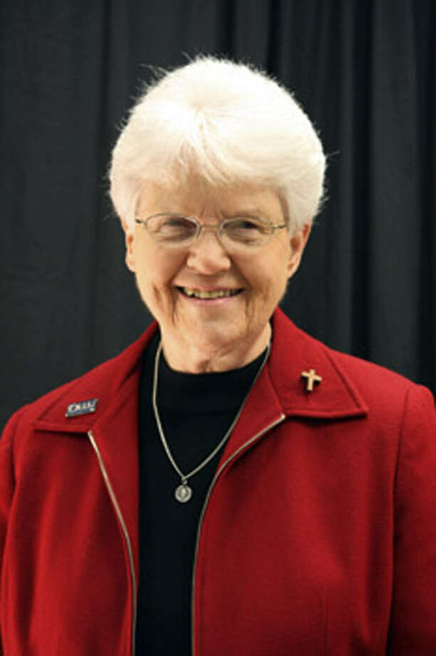 Sister Jane Ann Slater is a former dean of students at the school.