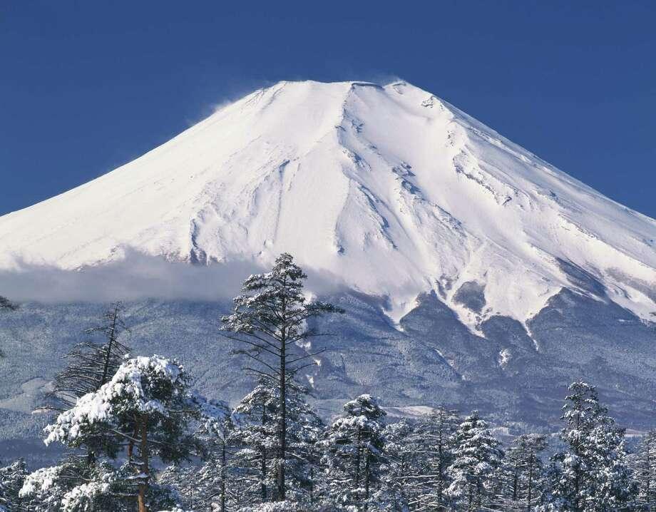 Mount Fuji, Kanagawa prefecture, Japan Photo: - Fotosearch, Getty Images/Fotosearch RF / Fotosearch RF