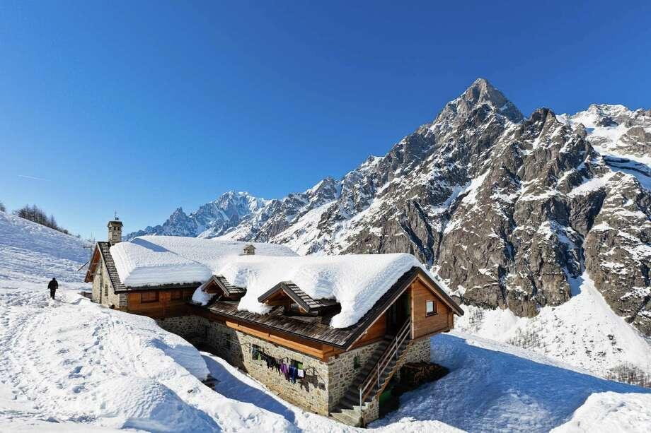 Bonatti Hut Photo: Flavio Vallenari, Getty Images / (c) Flavio Vallenari