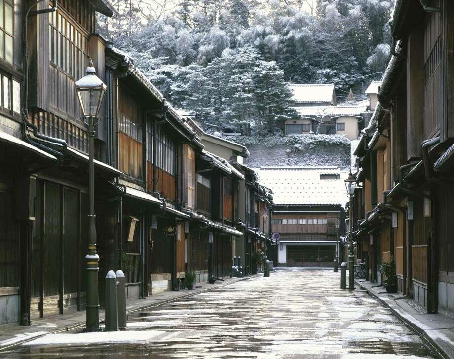 Kanazawa City, Ishikawa Prefecture, Japan Photo: Daisuke Oka, Getty Images/amana Images RM / amana images RM