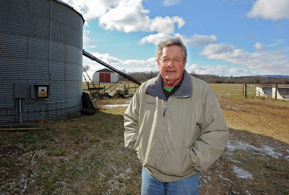 Dr. Stuart Lyman stands on his farm land on Friday Feb. 1, 2013 in Delmar, N.Y. For story about land constraints and other issues facing farmers in Bethlehem. (Lori Van Buren / Times Union) Photo: Lori Van Buren