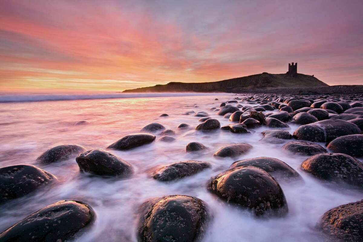 Northumberland, England, Dunstanburgh Castle