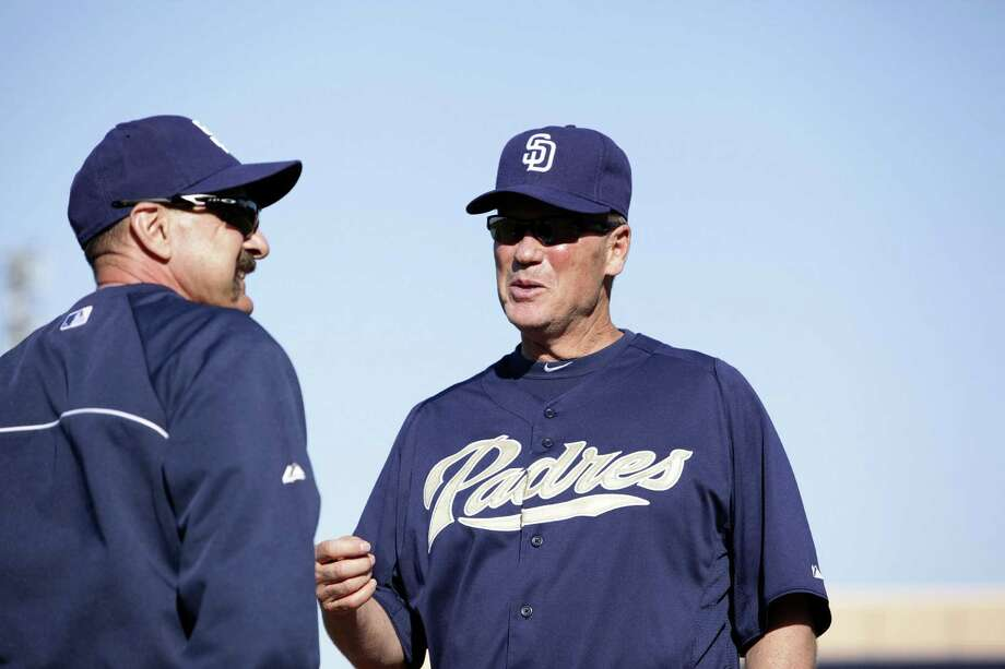 New Missions manager Rich Dauer (right) spent the past four seasons with Colorado before joining San Diego's organization. Photo: Jason Wise / For The Express-News