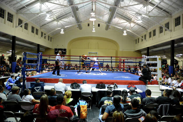 Woodlawn Gym during the semifinals of the San Antonio Golden Gloves tournament, Friday, Feb. 22, 2013. Photo: JOHN ALBRIGHT, For The Express-News / San Antonio Express-News