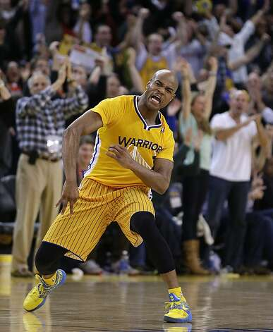 Jarrett Jack had 30 points and 10 assists to lead the Warriors. Photo: Ben Margot, Associated Press