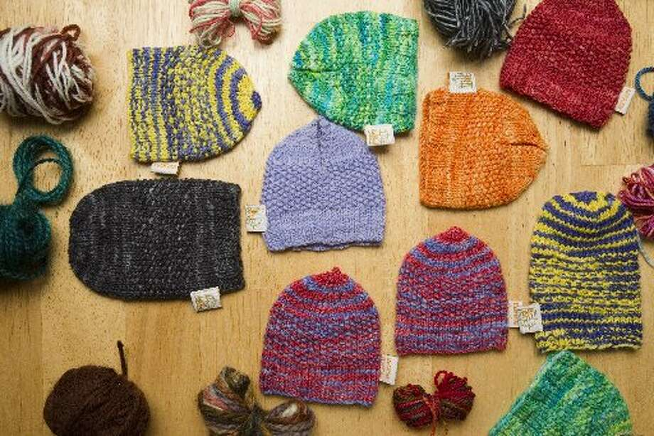 A few examples of BeerSox cozies.