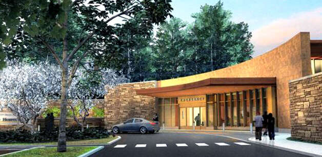 An artist's rendering depicts the planned entrance to New Milford Hospital from the Elm Street side following a planned, $10.8 million ER expansion. 2012  Courtesy of Western Connecticut Health Network Photo: Contributed Photo