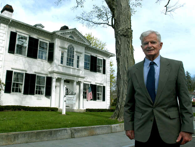 Venterable New Milford attorney Paul Altermatt retires in  May 2007 Photo: Norm Cummings