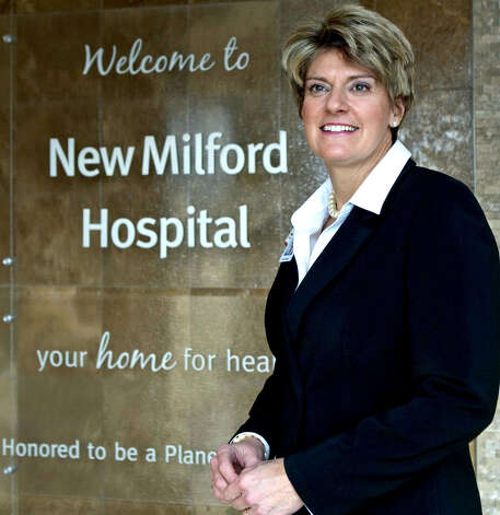 Deborah Weymouth, senior vice president and CEO at New Milford Hospital. February 2012  Courtesy of New Milford Hospital Photo: Contributed Photo