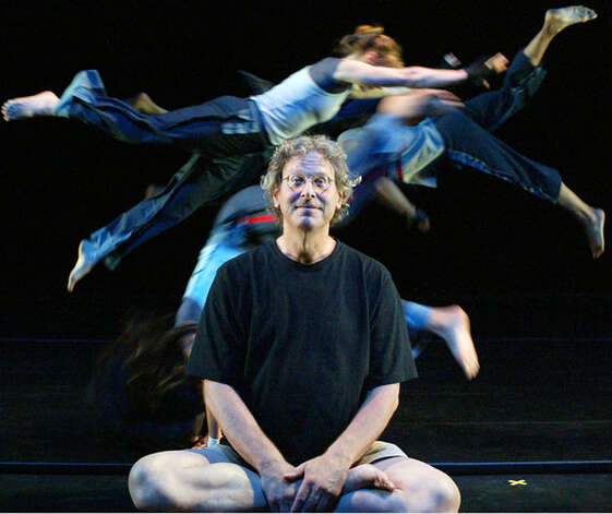 Jonathan Wolken, co-founder and director of the world-renowned dance troupe, Pilobolus, died June 17, 2010.  Courtesy of the New York Times Photo: Contributed Photo
