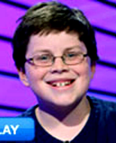 Tony Harkin of New Milford enjoys his experience on Kids Jeopardy.  Courtesy of Jeopardy Photo: Contributed Photo