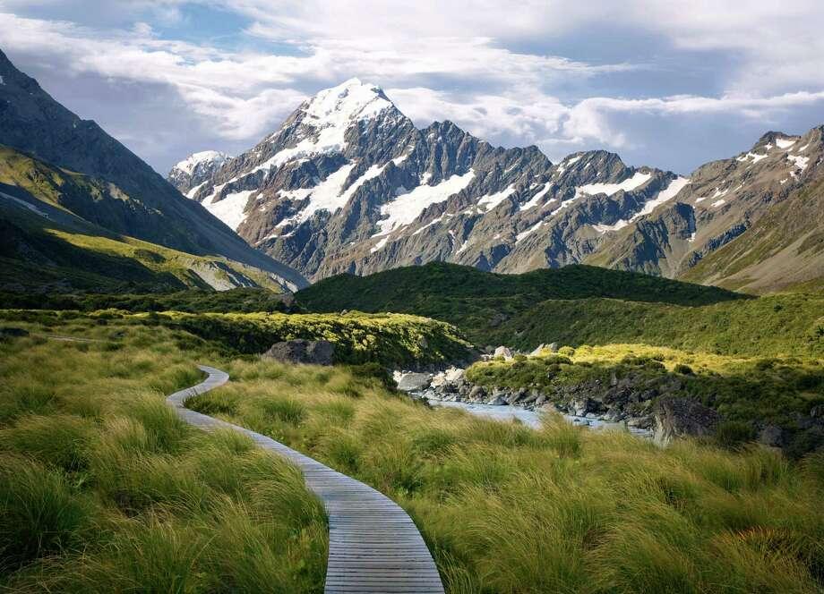 """Aoraki Mackenzie,"" New ZealandThe Dark Sky Association designated the Aoraki Mt Cook National Park (pictured) and the Mackenzie basin as top night-sky spot for star-gazing.  Photo: Ed Freeman, Getty Images / (c) Ed Freeman"