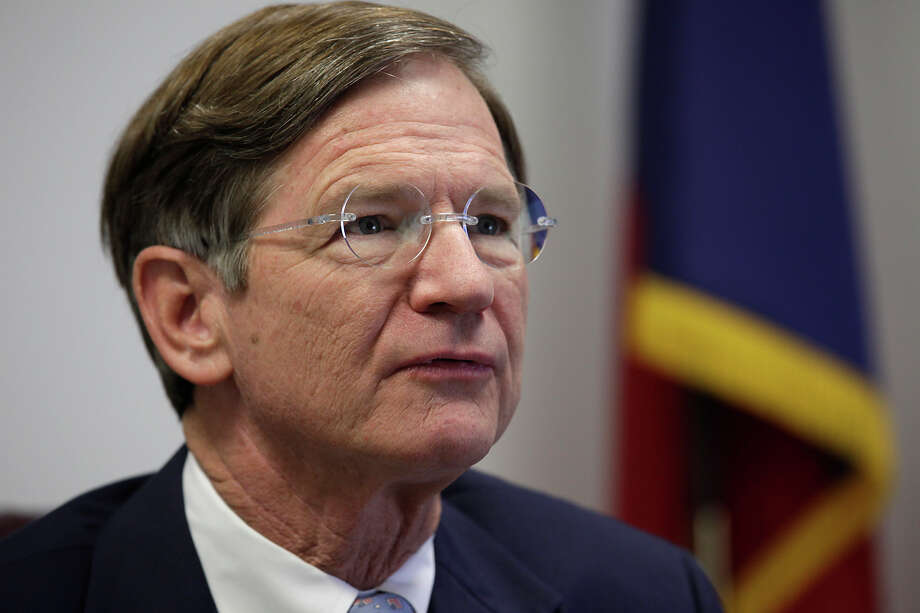METRO -- U.S. Representative Lamar Smith, R-Tx, hold a press conference at his office at 1100 NE Loop 410,  Monday, Dec. 13, 2010. The congressman spoke of his priorities as incoming Chairman of the House Judiciary Committee.  JERRY LARA/glara@express-news.net Photo: JERRY LARA, SAEN Staff / San Antonio Express-News