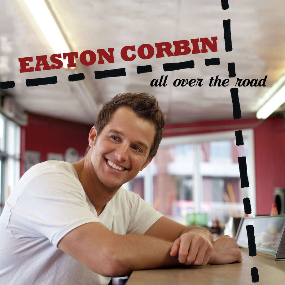 "This CD cover image released by Mercury Records shows the latest release by Easton Corbin, ""All Over the Road."" (AP Photo/Mercury Records) Photo: Uncredited"