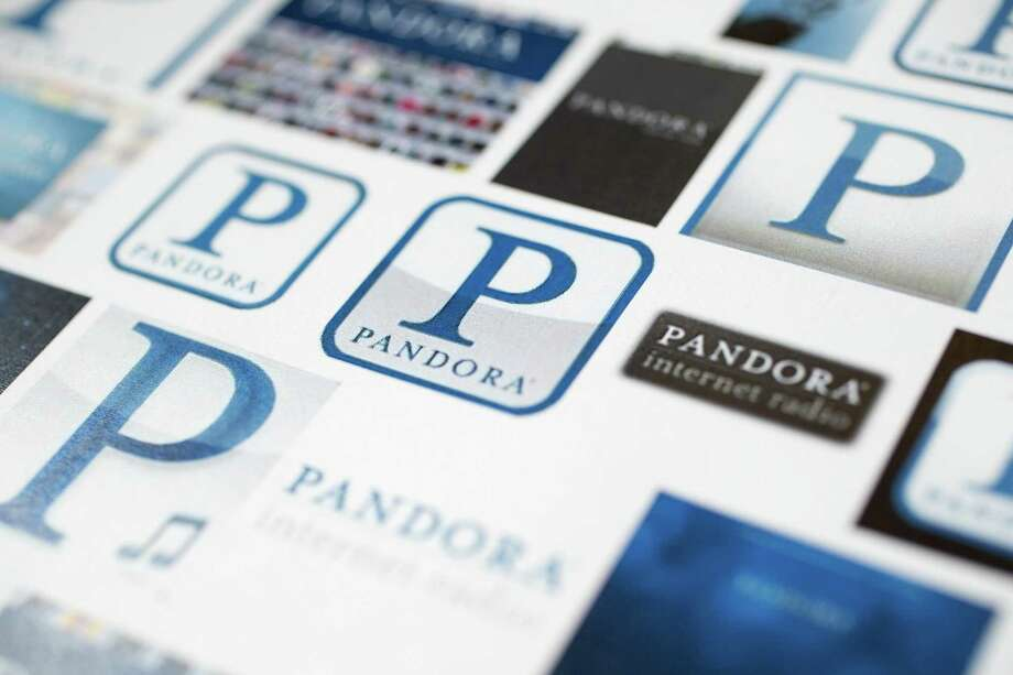 Pandora can be streamed on almost any device that has cell service or wireless network connection. Photo: Andrew Harrer / Bloomberg