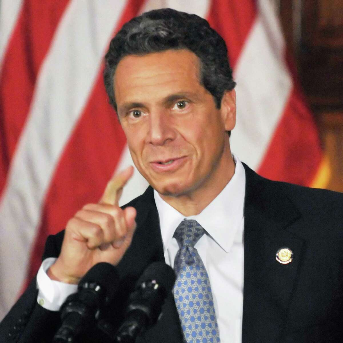 New York state Gov. Andrew Cuomo. (John Carl D'Annibale / Times Union)