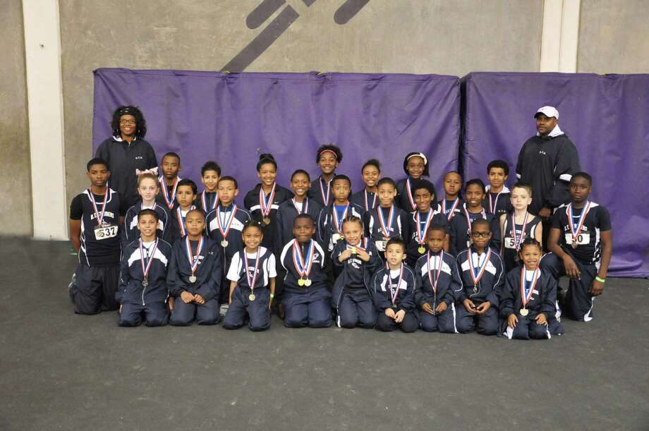 The Beaumont-based youth track and field club, B.T. Striders, closed its indoor season on Feb. 16, 2013 at the Louisiana Classic Indoor Youth Track Meet at LSU in Baton Rouge, La.  With 30 athletes ages 6-16 competing, the B.T. Striders won 28 medals. Photo: TRACK022413