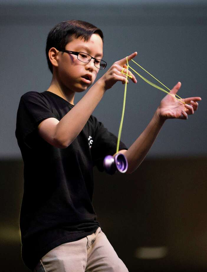 Harrison Lee, 13, the 2012 international rookie of the year, performs during the 1A section. Photo: JORDAN STEAD / SEATTLEPI.COM