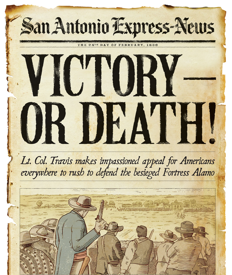 Victory Or Death San Antonio Express News