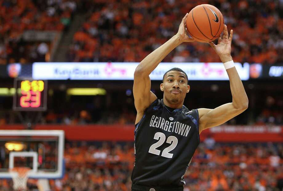 SYRACUSE, NY - FEBRUARY 23: Otto Porter #22 of the Georgetown Hoyas passes the ball during the game against the Syracuse Orange at the Carrier Dome on February 23, 2013 in Syracuse, New York. (Photo by Nate Shron/Getty Images) Photo: Nate Shron