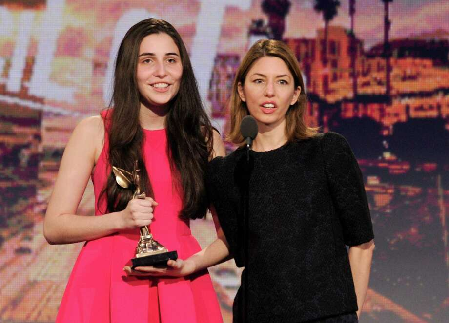 Sofia Coppola, right, presents Sophie Savides with the Special Distinction award. Photo: Chris Pizzello/Invision/AP