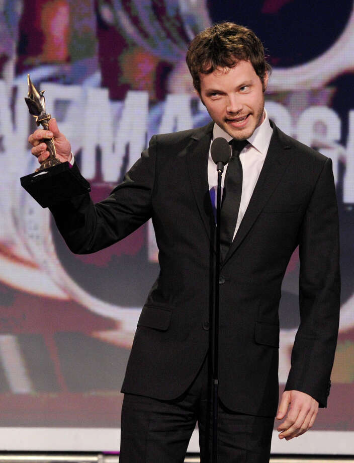 "Cinematographer Ben Richardson accepts the award for best cinematography for ""Beasts of the Southern Wild."" Photo: Chris Pizzello/Invision/AP"