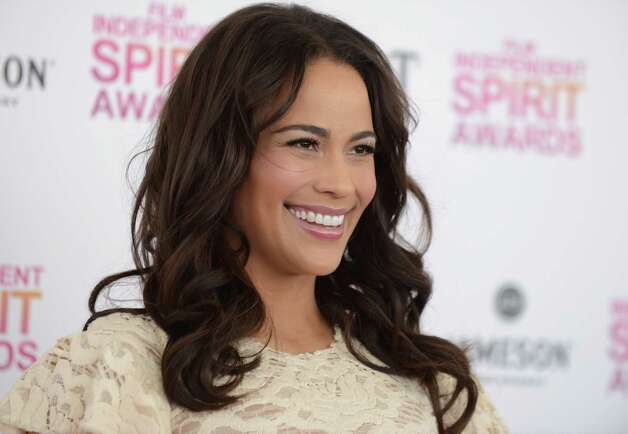 Actress Paula Patton arrives on the red carpet. Photo: Jordan Strauss/Invision/AP