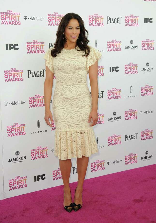 Actress Paula Patton arrives. Photo: Jordan Strauss/Invision/AP
