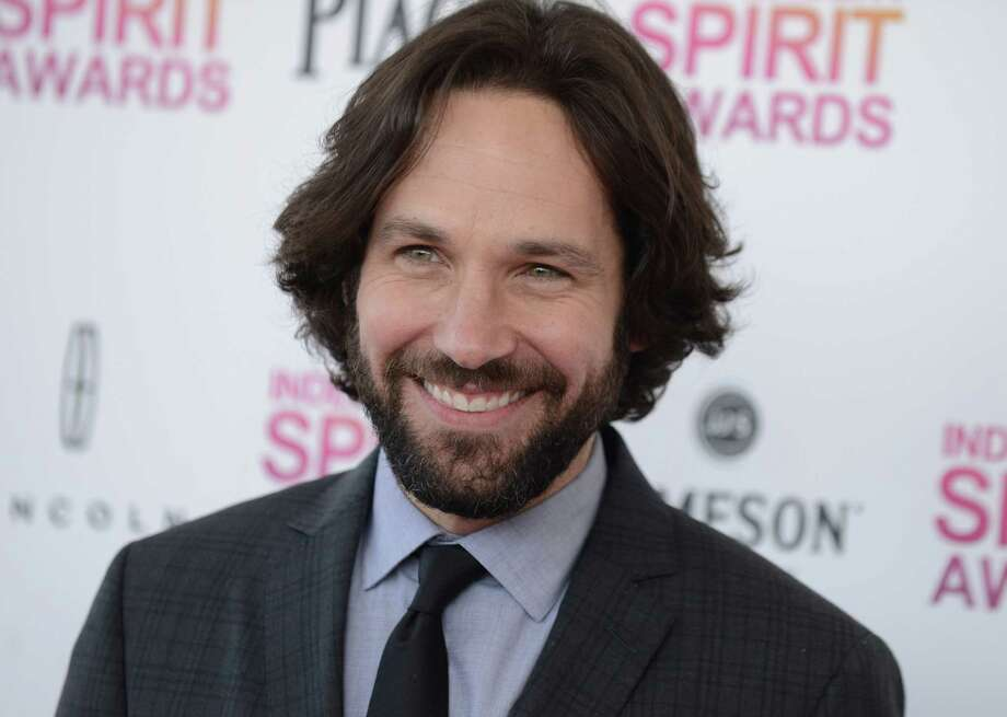 Actor Paul Rudd arrives. Photo: Jordan Strauss/Invision/AP