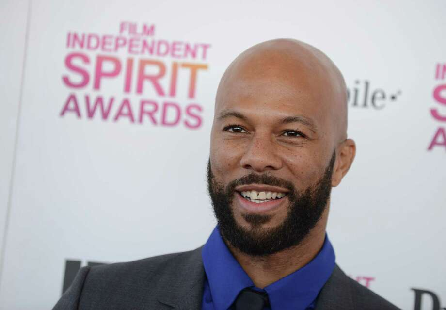 Recording artist Common arrives. Photo: Jordan Strauss/Invision/AP