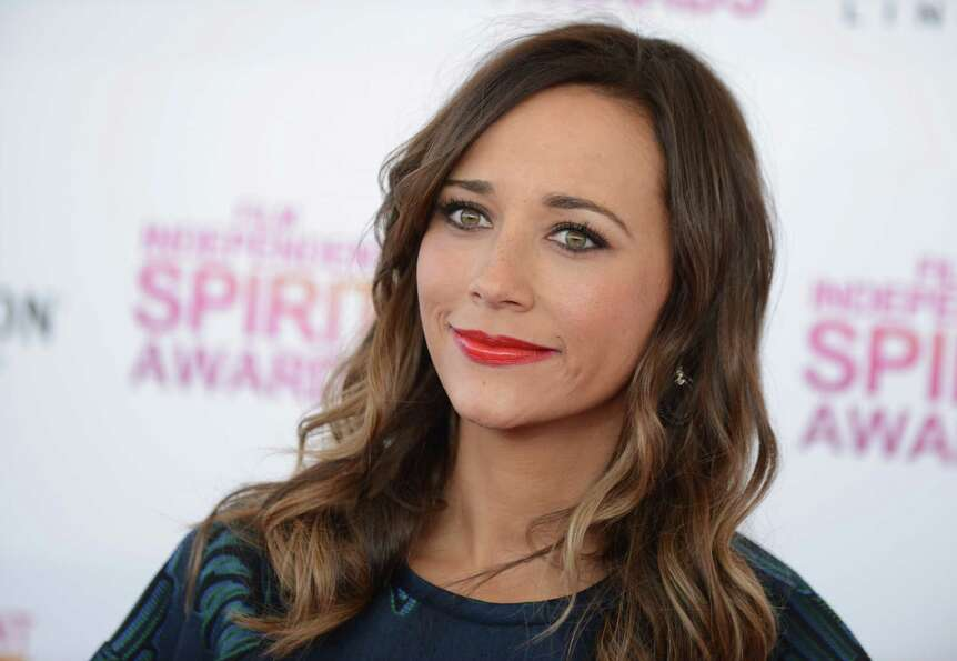 Actress Rashida Jones arrives.