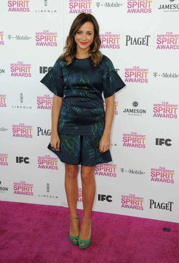 Actress Rashida Jones arrives. Photo: Jordan Strauss/Invision/AP