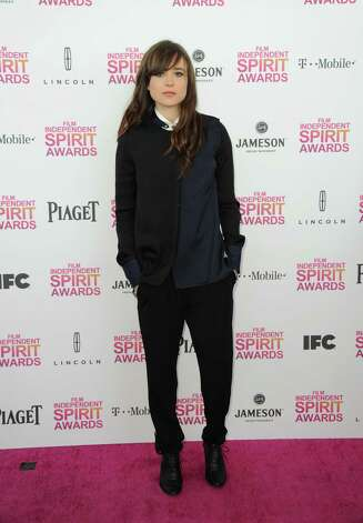 Actress Ellen Page arrives. Photo: Jordan Strauss/Invision/AP