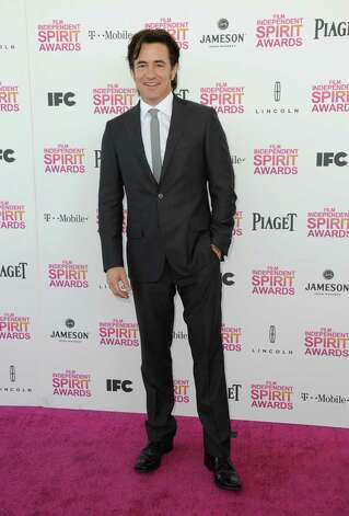 Actor Dermot Mulroney arrives. Photo: Jordan Strauss/Invision/AP