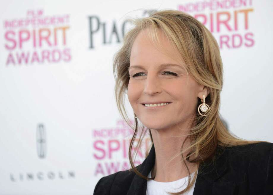 Actress Helen Hunt arrives. Photo: Jordan Strauss/Invision/AP