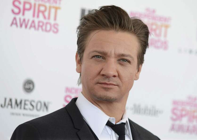 Actor Jeremy Renner arrives.