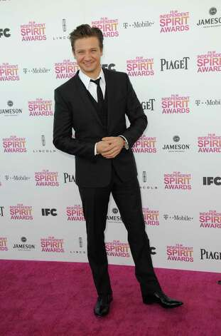 Actor Jeremy Renner arrives. Photo: Jordan Strauss/Invision/AP