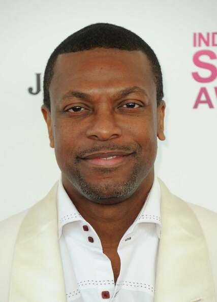 Actor and comedian Chris Tucker arrives.