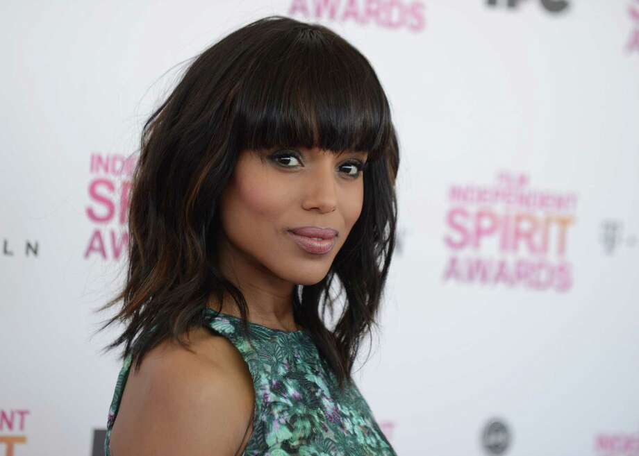 Actress Kerry Washington arrives. Photo: Jordan Strauss/Invision/AP