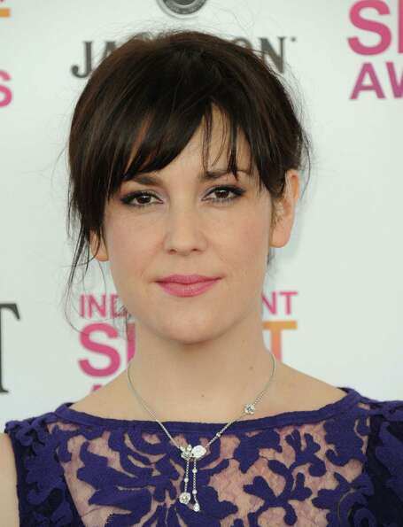 Actress Melanie Lynskey arrives.