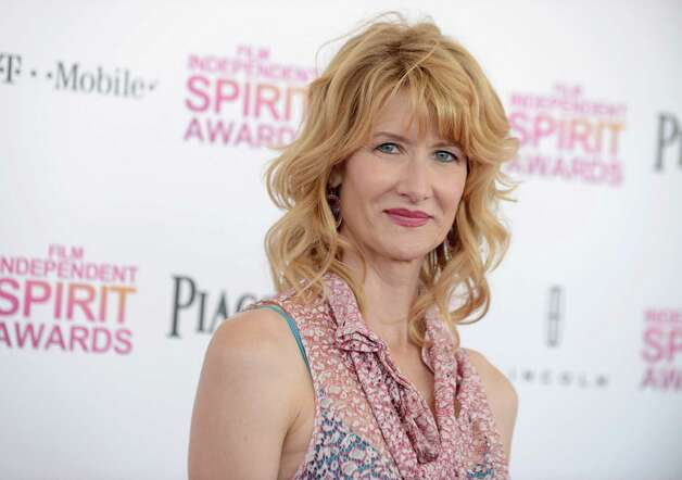 Actress Laura Dern arrives. Photo: Jordan Strauss/Invision/AP